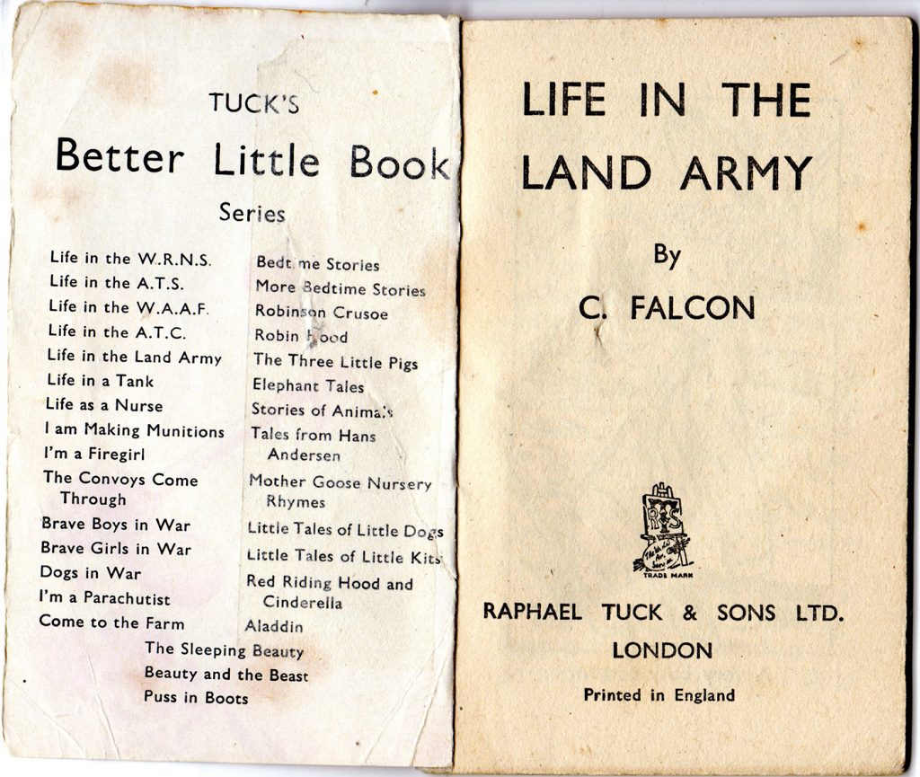 Life in the Land Army Inside page 1
