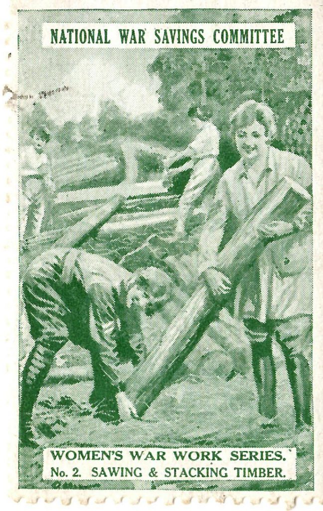 No 2. Sawing and Stacking Timber