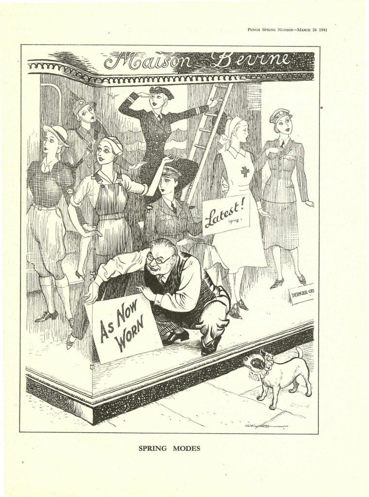 'Spring Modes' Cartoon