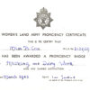 WW2 Proficiency Distinction Certificate for Milking and Dairy Work