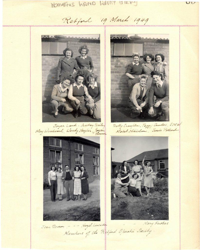 WLA Retford Album Page 7
