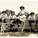 WW1 Photo: Land Girl Beauty Competition