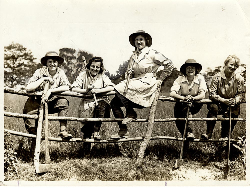 First World War Land Girls