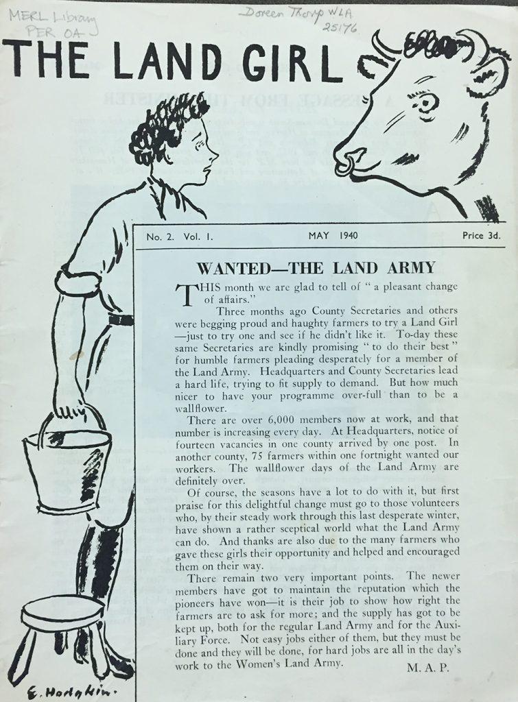 May 1940 edition drawn by E.Hodgkin.