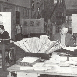 Office staff working at Balcombe Place