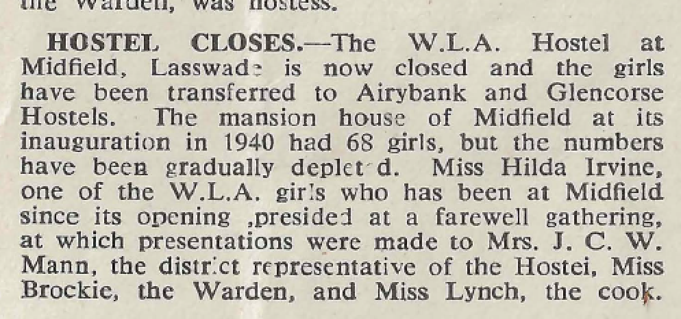 From the Land Girl, January 1947, p.13