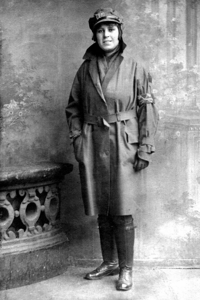 Nellie Wright in 1918
