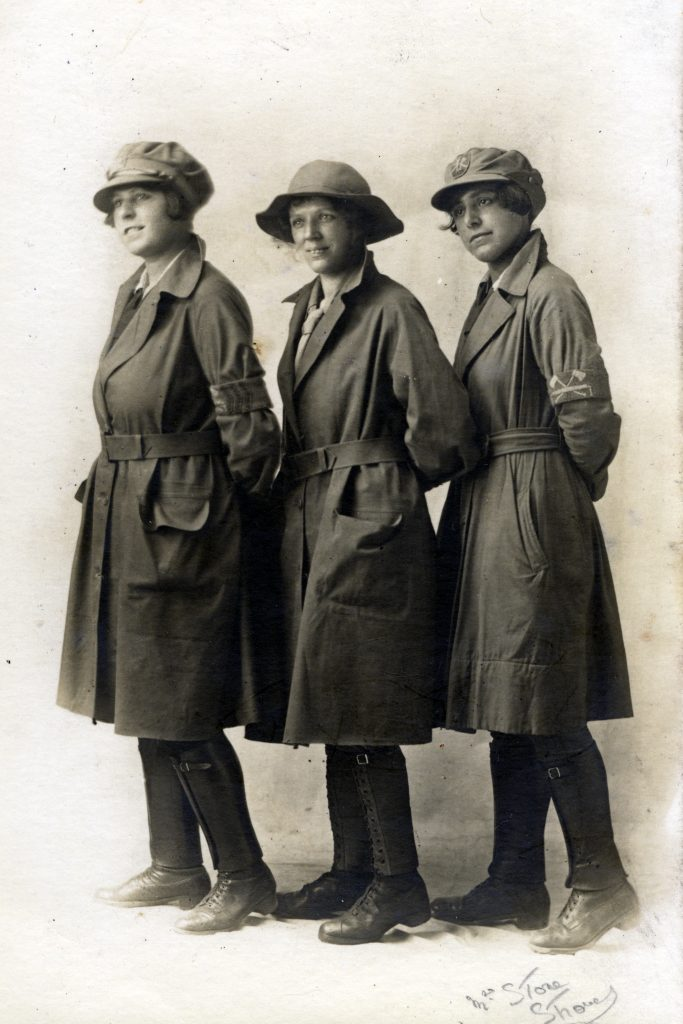 Nellie Wright & Pals WW1