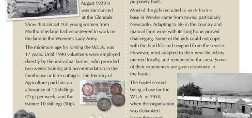 Wooler Hostel Women's Land Army