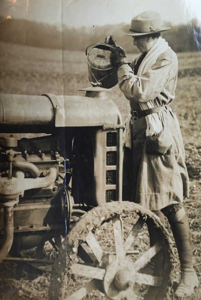 Chequers Land Girl during the Second World War