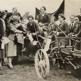 Land Girls at Hackney Marsh Demonstrations