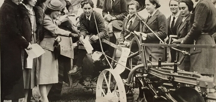Land Girls at Hackney Marsh Demonstrations