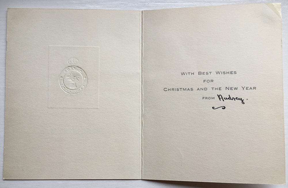 WLA Christmas Card Inside