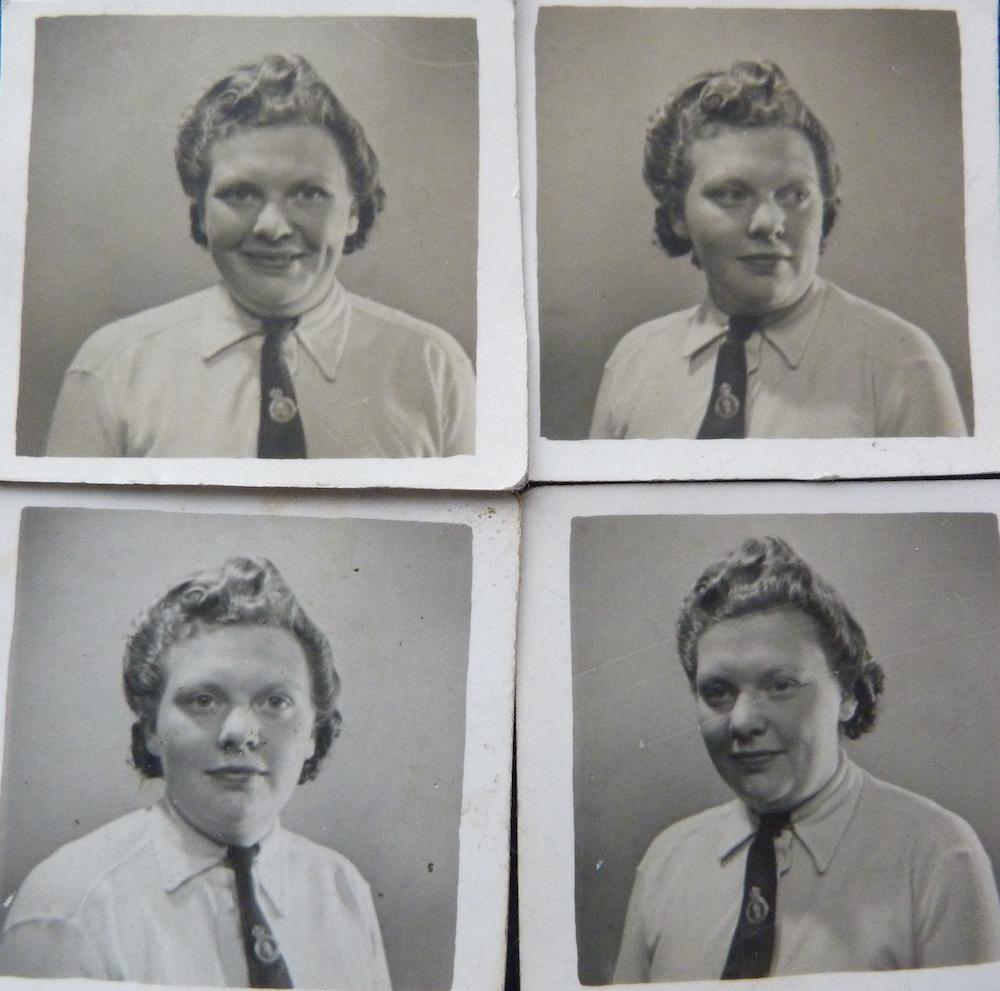 Betty Parker portraits
