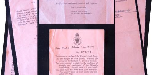 Elsie Humm (née Beckett) WLA correspondence