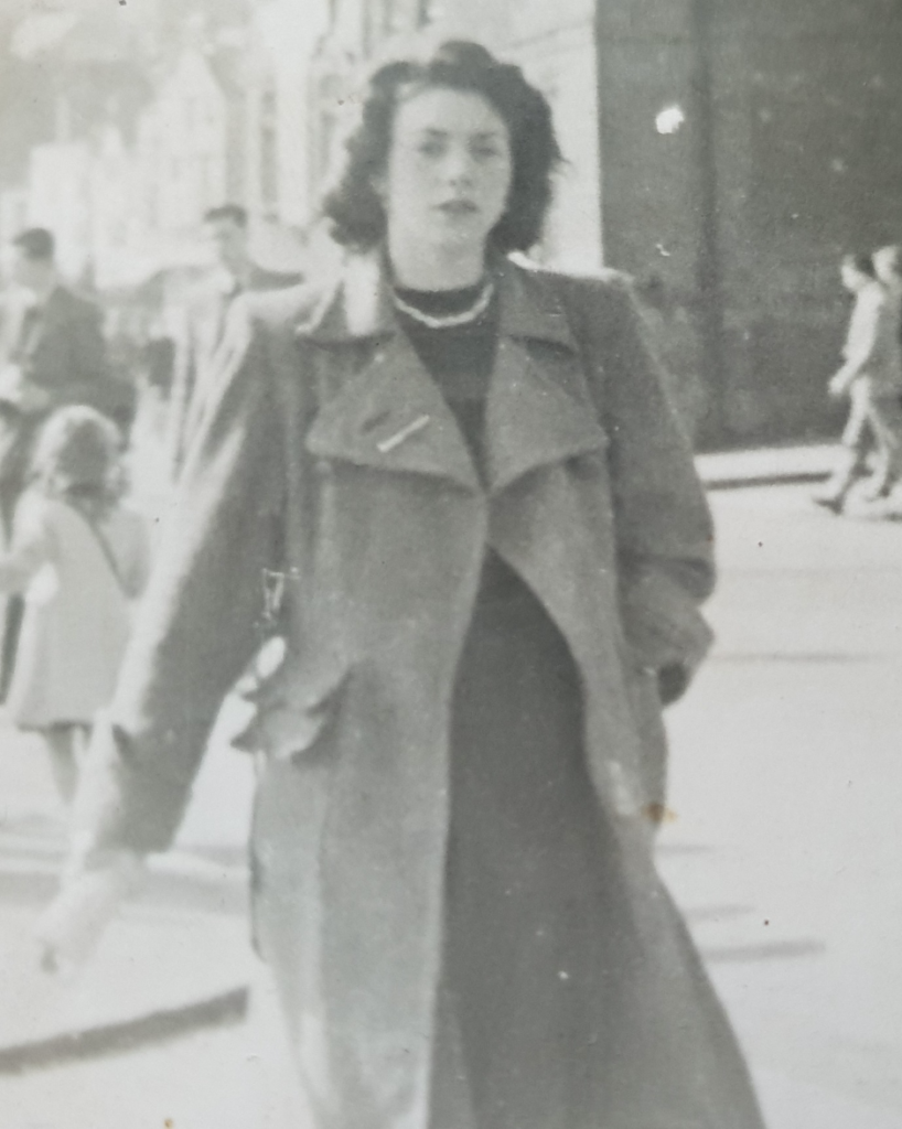 Annie Popplewell (née Basquill) in 1948