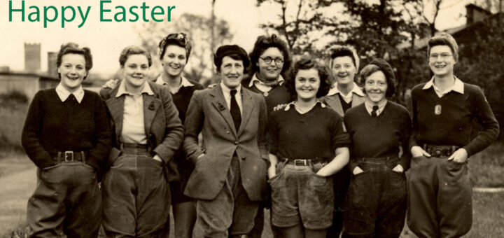 Land Girls in Wetherby Easter Sunday 2020 Featured