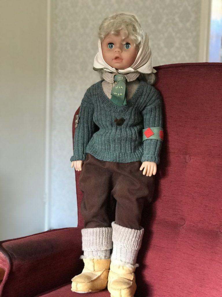 Winifred Dawe WLA Doll