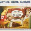 Bamforth comics WLA postcard series